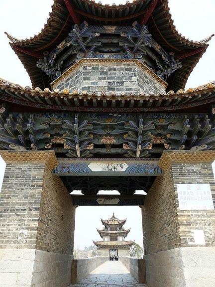 le pont Shuanglong; de jolis décors