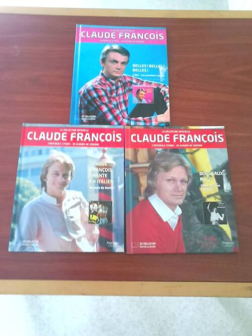 Nouvel asquisition Claude François à easy cash et en brocante