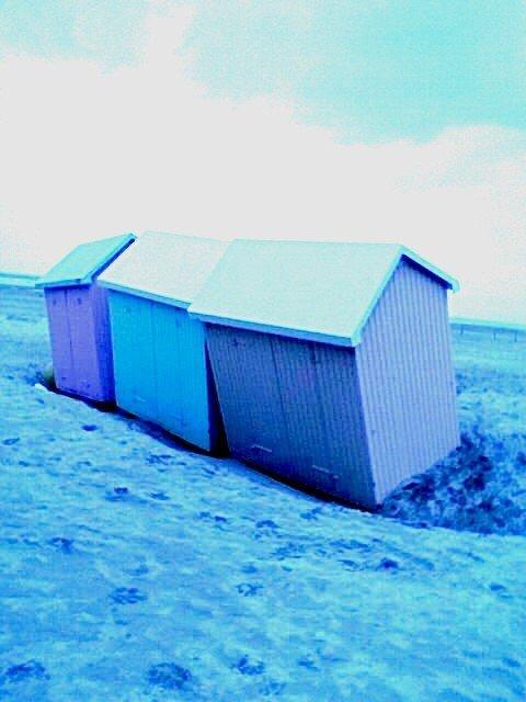 Cabines de plage à Berk (62)