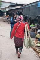 marché Luang Namtha
