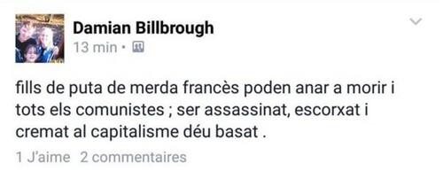 Insultes Francophobes sur un groupe de micronations sur facebook