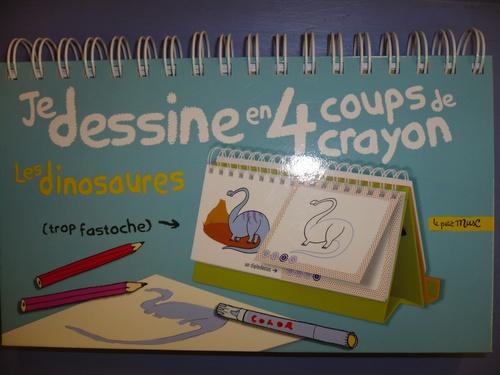 Je dessine en 4 coups de crayon les dinosaures
