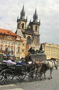 Prague-Carriage