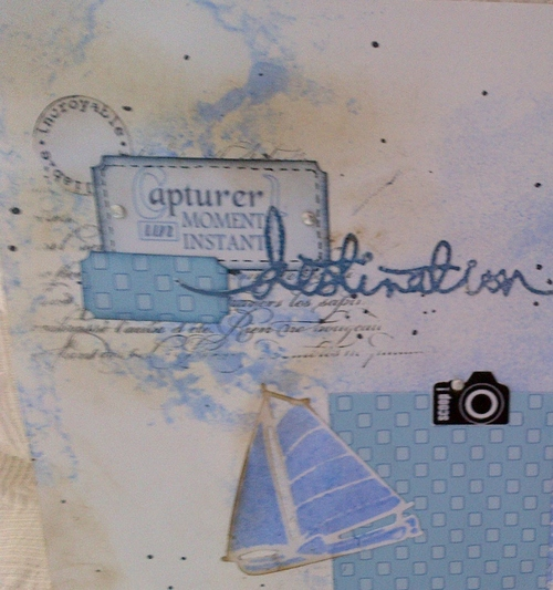 SCRAP- Dictée de page