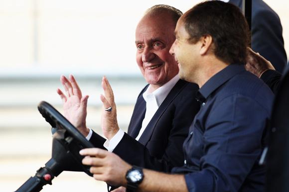 Juan Carlos et la voiture électrique