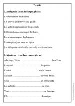 le verbe (Ce1)