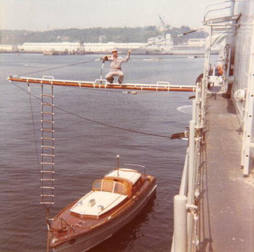 D'Estrées, Brest en 1968