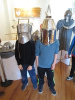 Médiathèque : Exposition sur le Moyen Âge (6)