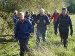 La randonnée du 24 novembre à Arromanches