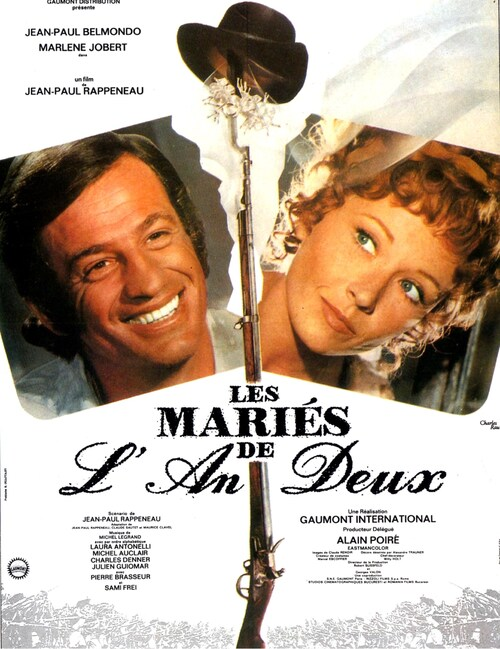 LES MARIES DE L'AN II - BOX OFFICE JEAN PAUL BELMONDO 1971