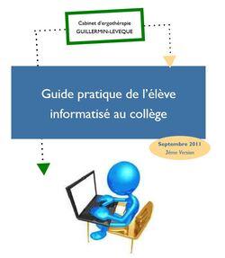 * Des logiciels pour aider les élèves à besoins spécifiques