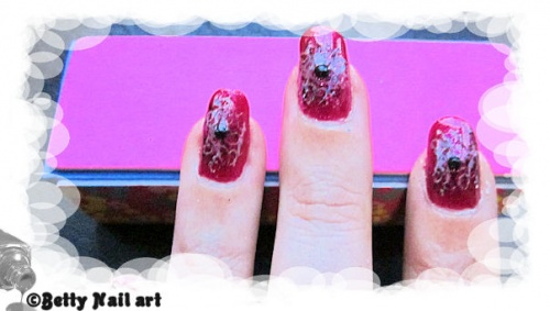 Double stamping sur Hot Mess