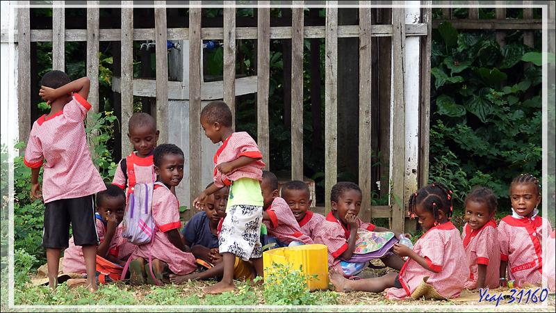 La seule école de l'île se trouve à Antanambe - Nosy Sakatia - Madagascar