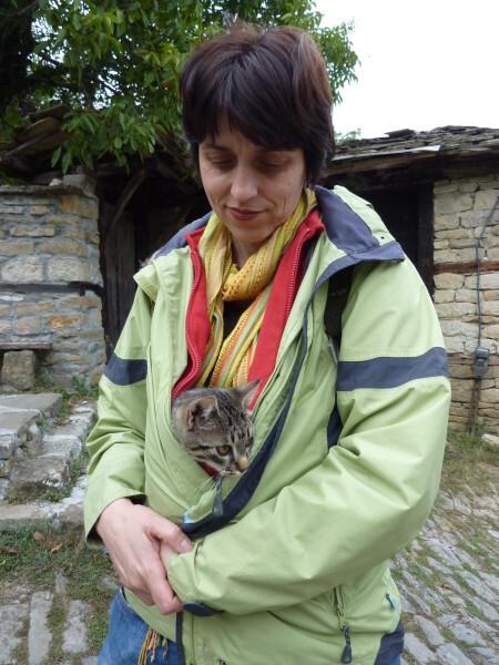 Jour 11 - Bojentsi - Maria et le petit chat