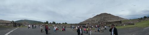Les pyramides de Teotihuacán