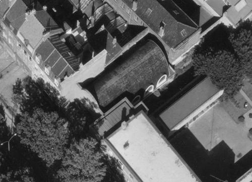 Lille, Bd Montebello en 1965, Temple (remonterletemps.ign.fr)