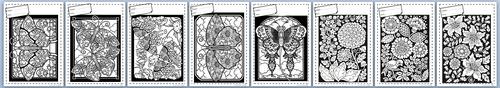 Coloriages, papilons, fleurs, dixmois, motricité fine