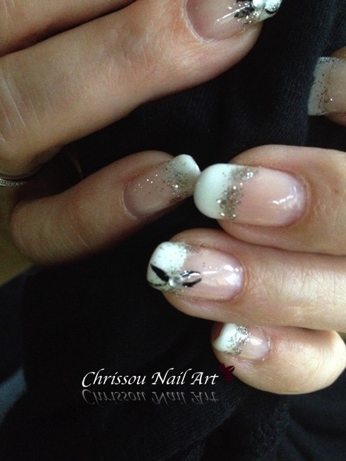 Nail Art mariage semi permanent