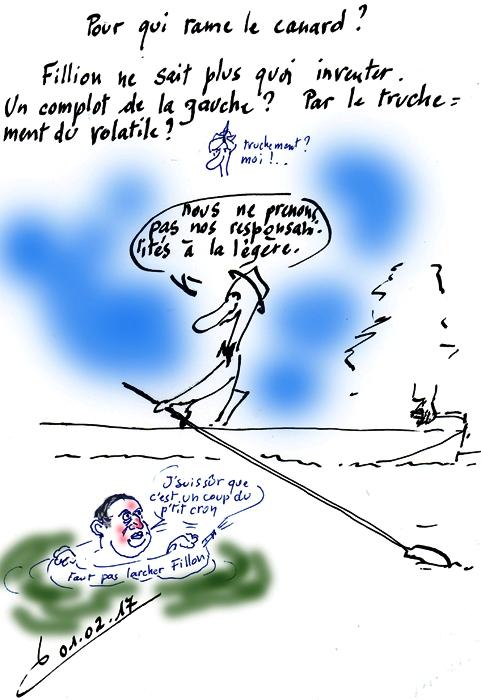 Canard de François....Hollande