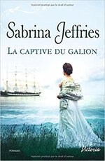 Chronique La captive du galion de Sabrina Jeffries