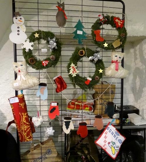 Le Marché de Noël du Zonta Club propose encore aujourd'hui de bien beaux achats pour les Fêtes !