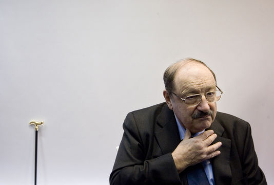 Umberto Eco le 23 février 2011.