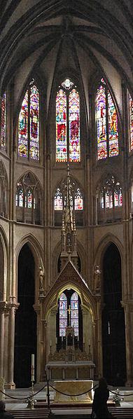 Bayonne : la cathédrale Sainte Marie