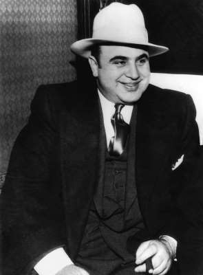 A portrait of American gangster, Al Capone, Chicago, Illinois, January 1, 1930. (Photo by Underwood Archives/Getty Images)