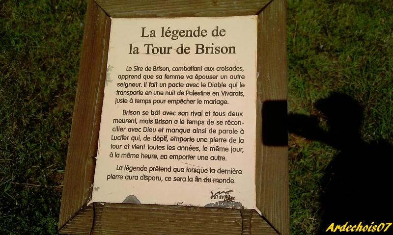 La Légende De La Tour De Brison