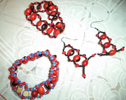 Bijoux (produit au sein de l'asbl)