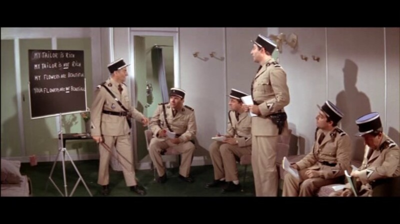 LOUIS DE FUNES - LE GENDARME A NEW YORK