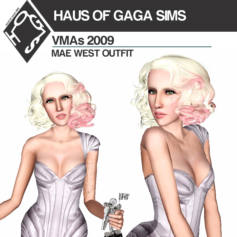 MTV VMAs 2009 JEAN PAUL GAULTIER 'MAE WEST' OUTFIT