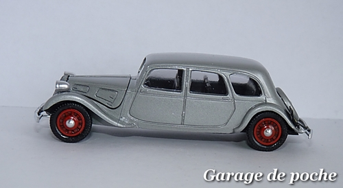Citroen Traction 11B limousine 1938