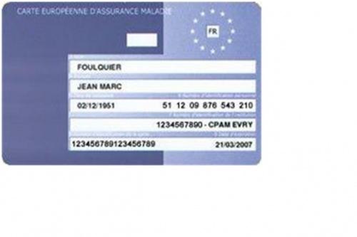 Carte Vitale Europeenne.Carte Europeenne D Assurance Maladie Esst