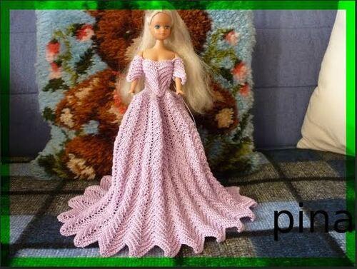 """Vos avancées pour le CAL de la robe Barbie """"Jade""""(5)"""