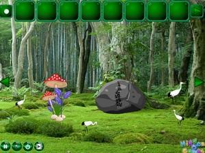 Jouer à Escape panda from fire forest