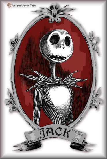 Tube Mr Jack Skellington 2968