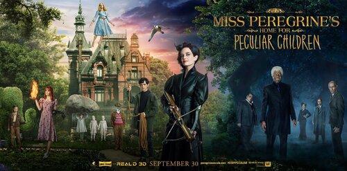 Miss Peregrine et les enfants particuliers.