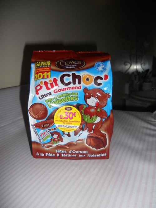 Test des p'tit choc ultra gourmands de Cémoi