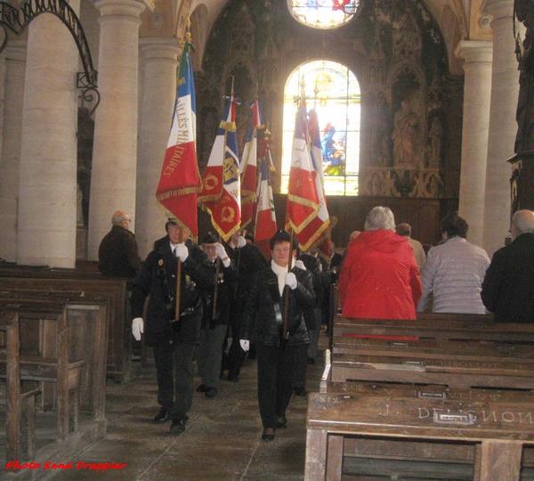 René Drappier s'est rendu à la commémoration du souvenir de la chute du maquis Sainte Marie à Vanvey