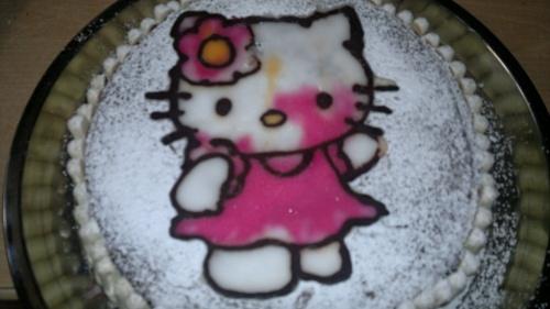 moelleux au chocolat Hello Kitty