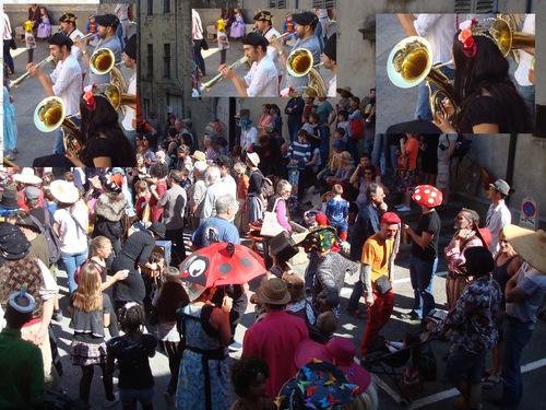 --- Carnaval 2017 à Saillans : place de la Daraize ---