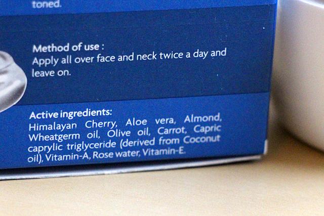 Ma crème doudou : Himalayan Cherry Cold Cream de Jovees.