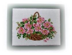 Wild Roses Basket fin