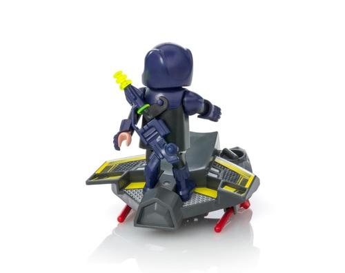 Playmobil - Chevalier du ciel avec planeur