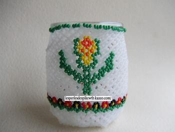 Pot Yaourt Fleur