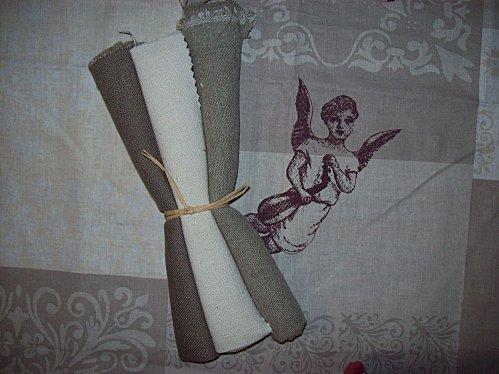 cadeaux Brigitte toiles et coupon Ange