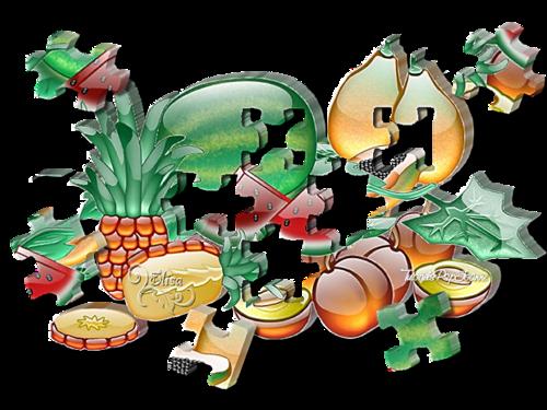 Tag Delicious 3D Puzzle