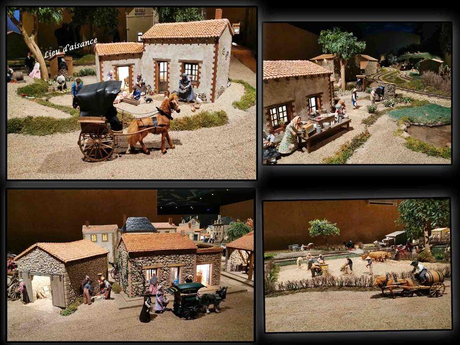« Village miniature St Laurent sur Sèvre »