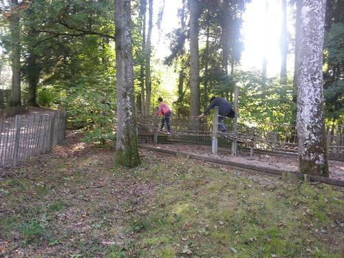 Sortie au Domaine Provincial de Chevetogne  le 28 septembre 2013